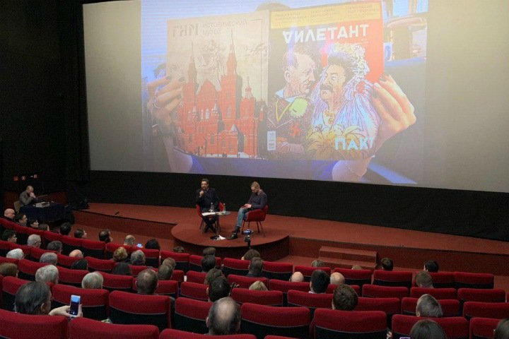 Пикет против «Дилетантских чтений» о пакте Молотова-Риббентропа прошел в Новосибирске. Снимать его приехали журналисты госканалов