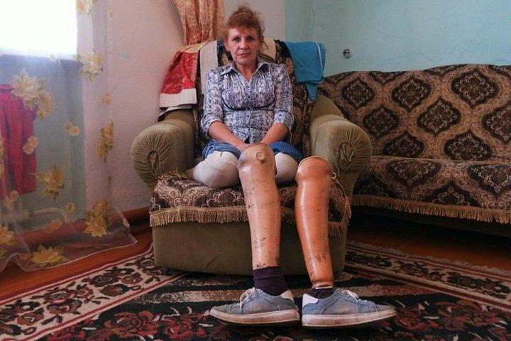 Как начинает новую жизнь женщина без ног, осужденная за убийство мужа в Забайкалье. Он избивал ее и детей