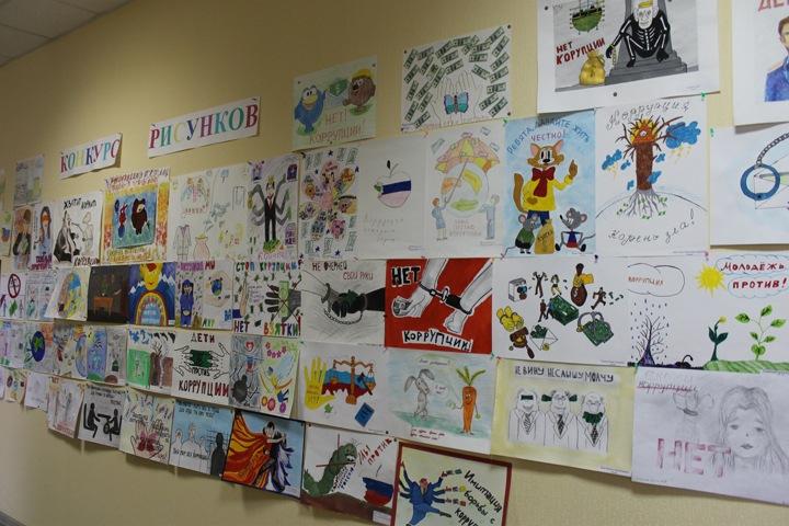 Дети сотрудников алтайского СК нарисовали коррупцию