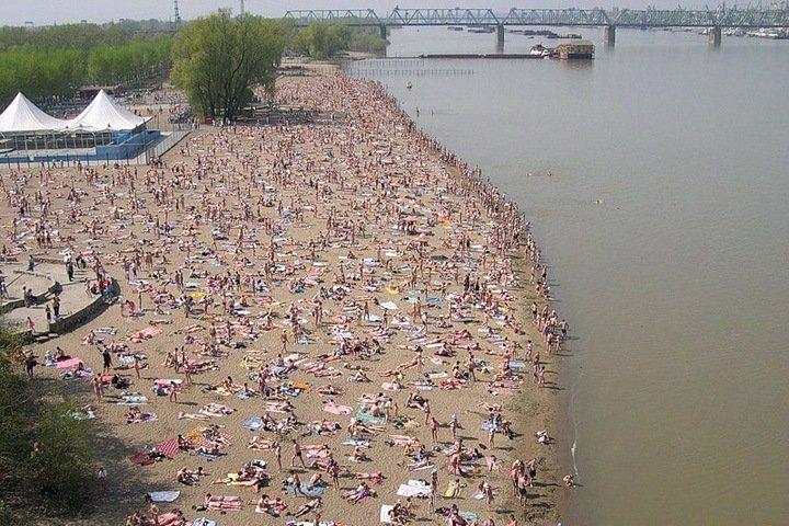 Новосибирский пляж закроют на два года из-за строительства нового ЛДС