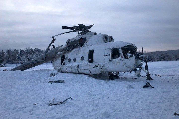 Уголовное дело завели после «грубого приземления» вертолета в Эвенкии