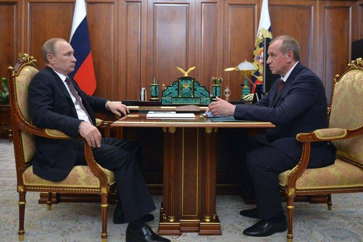 Путин связал отставку Левченко с выборами и паводком