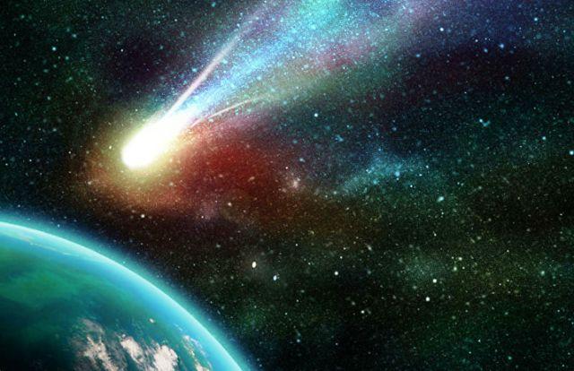 Открыта новая комета