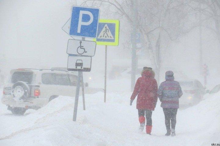 Снегопады продолжатся в Новосибирске
