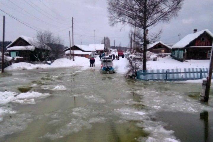 Уровень Енисея почти достиг критической отметки в Красноярском крае