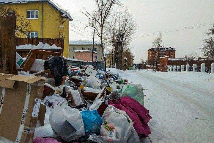 Новосибирские перевозчики мусора заявили о саботаже