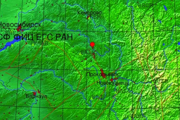 Два землетрясения произошли в Кузбассе