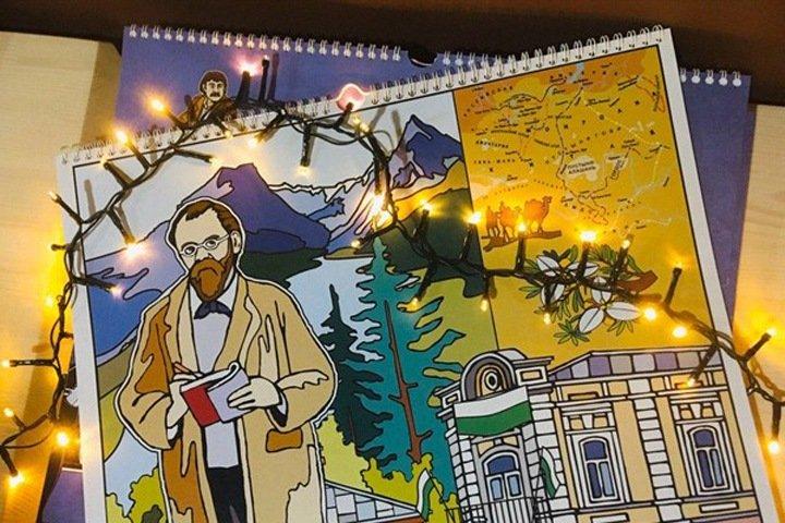 Томское агентство выпустило календарь с известными земляками