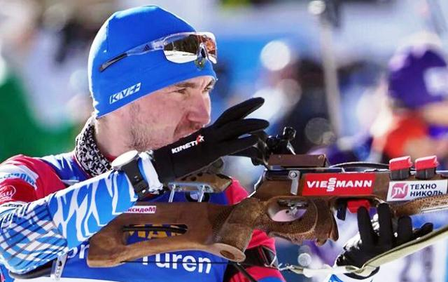 Александр Логинов взял золото в спринте