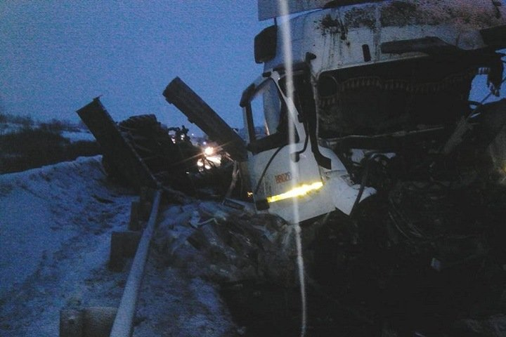 Двое погибли в ДТП с трактором и КамАЗом на трассе «Новосибирск-Омск»
