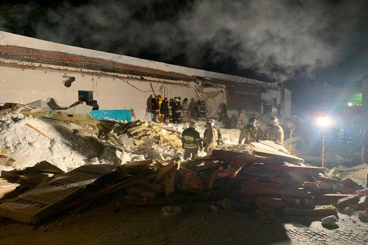 Крыша ночного клуба обрушилась в новосибирском Академгородке. Погибла девушка