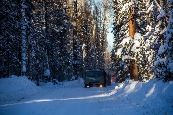 Новосибирцам пообещали теплую и снежную погоду