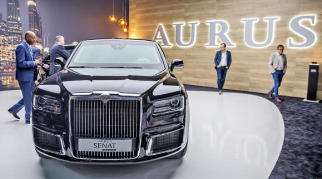 Когда автомобили Aurus пойдут в серию