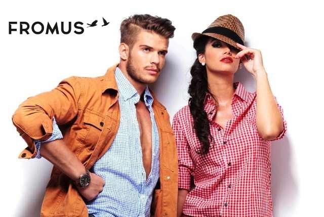 Магазин стильной одежды для мужчин и женщин FROMUS