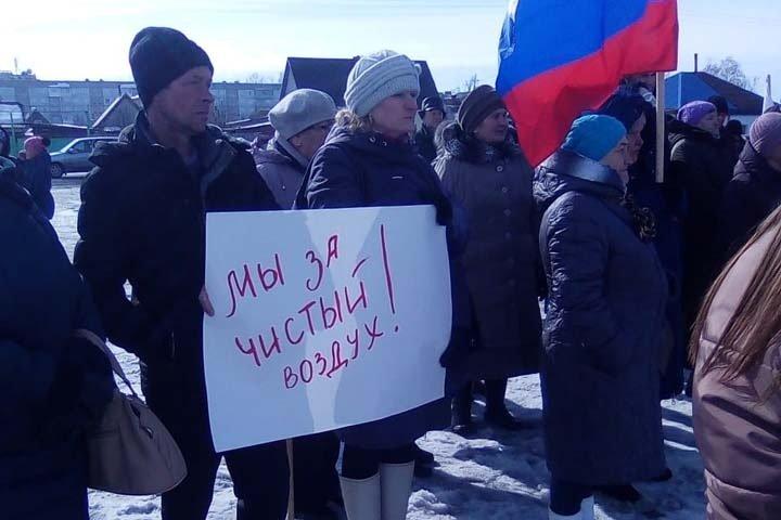 Более 100 барабинцев вышли на митинг против городских властей