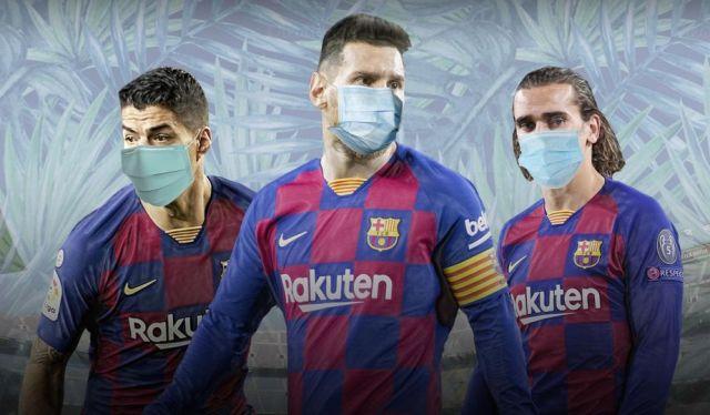 Барселона может обанкротиться из-за коронавируса