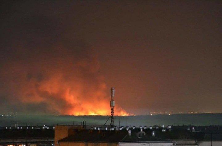 Колония загорелась в Иркутской области после бунта