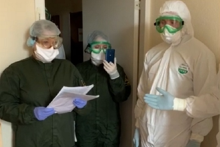 Госпитализированного по решению кузбасского суда младенца с отрицательным тестом на коронавирус выписали из больницы