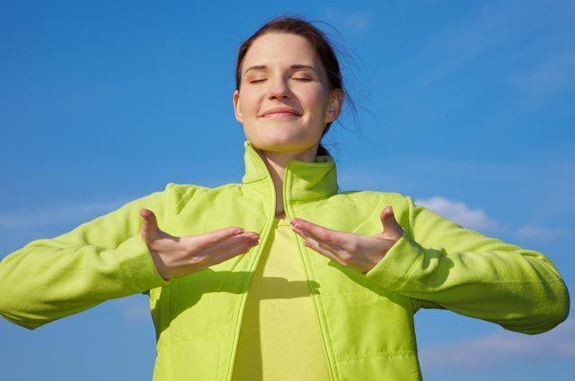 Как улучшить работу лёгких: дыхательная гимнастика и упражнения для шеи