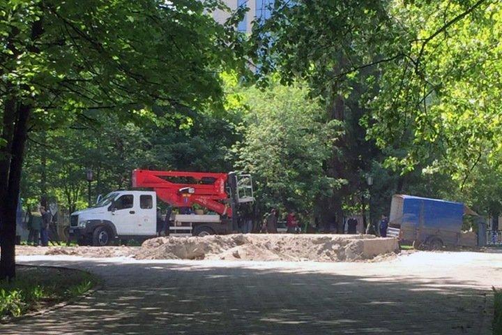 Известное по разборке со стрельбой кафе в центре Новосибирска снесли
