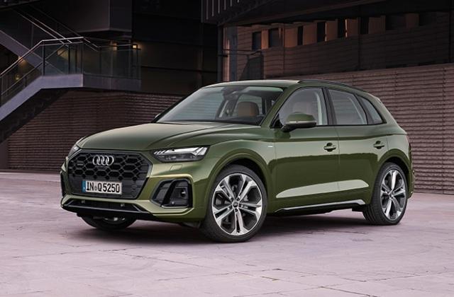 Audi представила обновленный кроссовер Q5, что изменилось