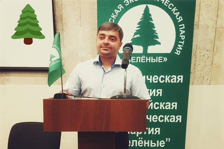 Лидер новосибирских «Зеленых» избран в Центральный совет партии