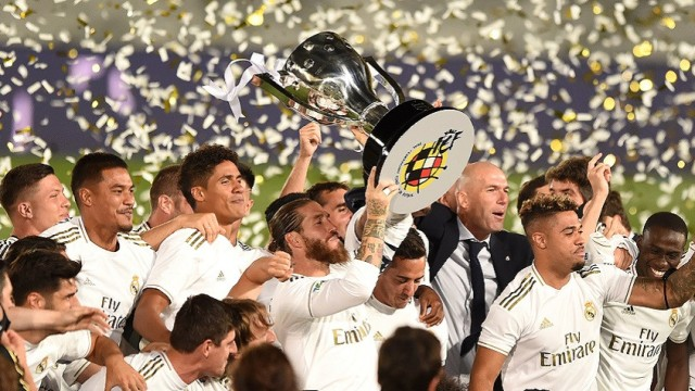 Мадридский «Реал» в 34-й раз стал чемпионом Испании по футболу