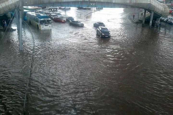 Новосибирцев предупредили о похолодании и сильном дожде