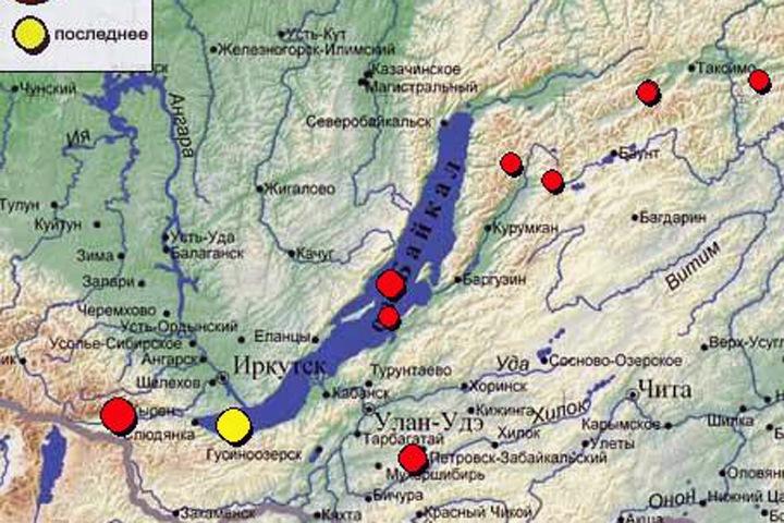 Землетрясение на Байкале дошло до Иркутска