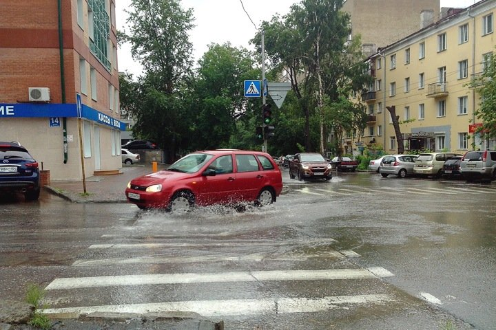 Рабочая неделя в Новосибирске начнется с дождей