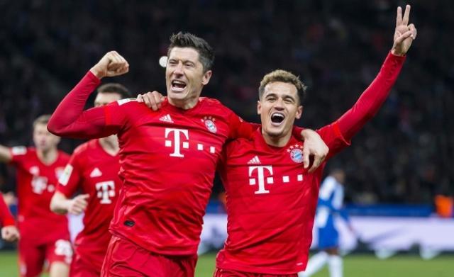 11 рекордов Баварии за сезон: не хватает только Лиги Чемпионов