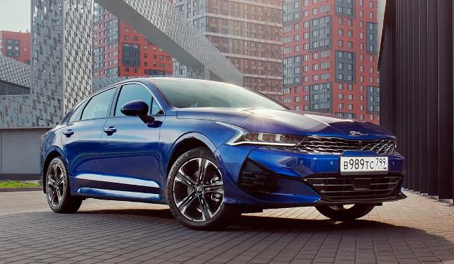 Осенние продажи: Kia назвала цены нового седана K5