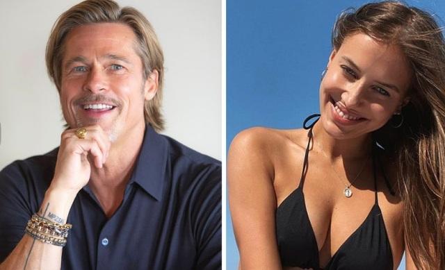 Похожа на Джоли и Шейк: как выглядит на фото новая пассия Брэда Питта