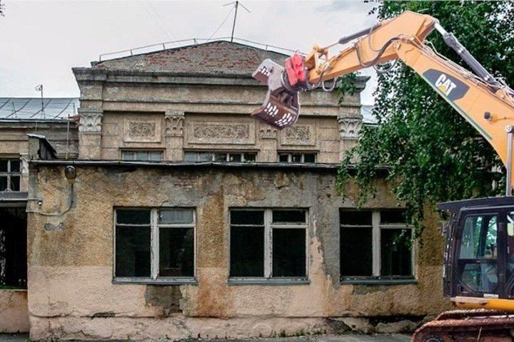 Мэрия Новосибирска снесет школу в Центральном районе