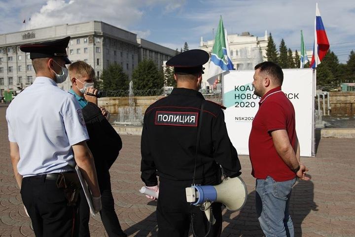 Новосибирский суд оштрафовал Сергея Бойко за согласованную агитацию