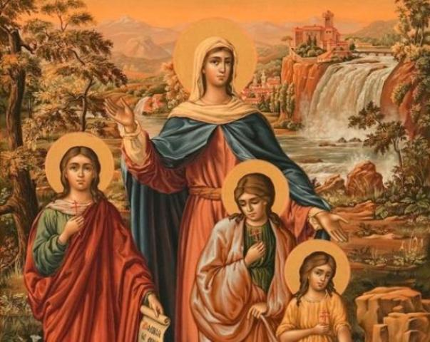 30 сентября День Ангела: Веры, Надежды, Любви и Софии