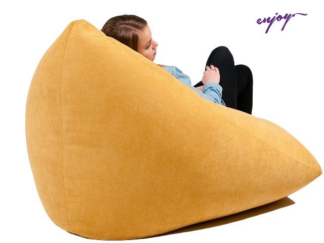 Кресла-мешки: формы, материалы, особенности