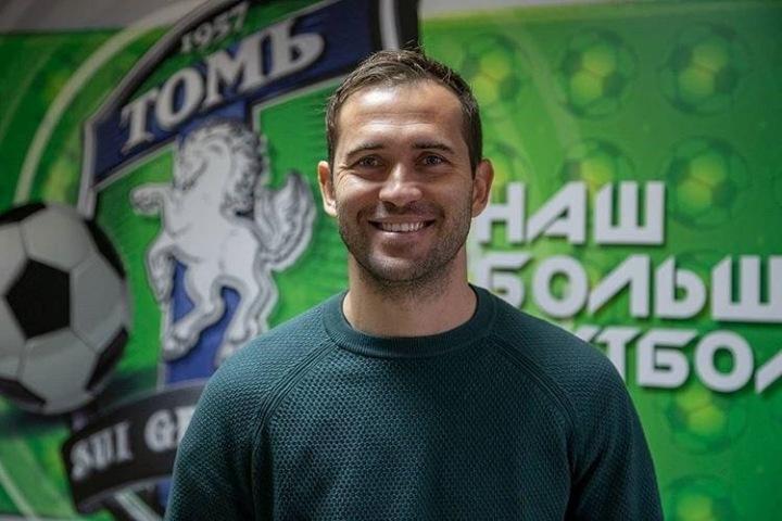 Лучший бомбардир сборной России по футболу возглавил ФК  «Томь»
