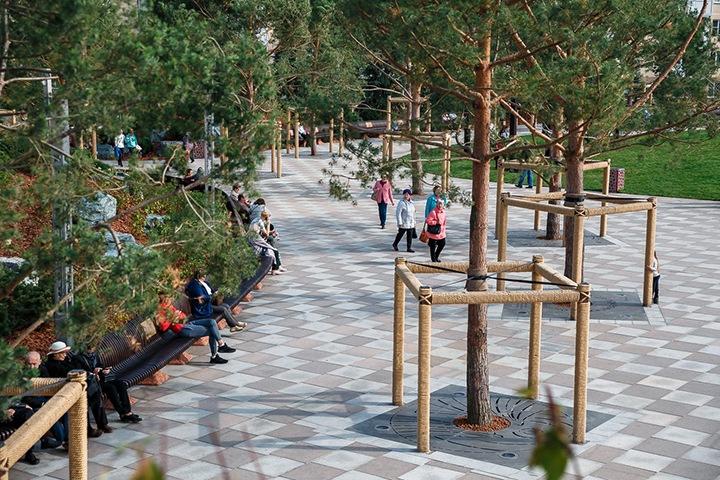 Охрана парка на месте сгоревшей «Зимней вишни» обойдется в 3 млн рублей