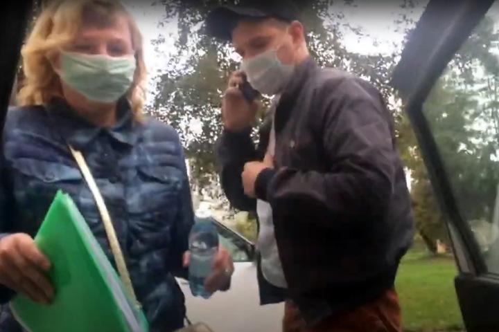 Неизвестные увезли кемеровского блогера «в отдел»