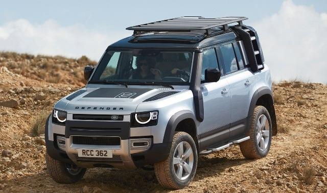 Обновленный Land Rover Defender. Как изменился внедорожник