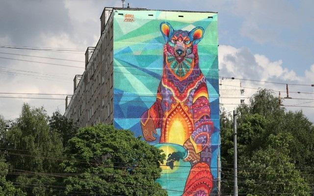 Эскиз и согласование. Как нарисовать граффити на своем доме
