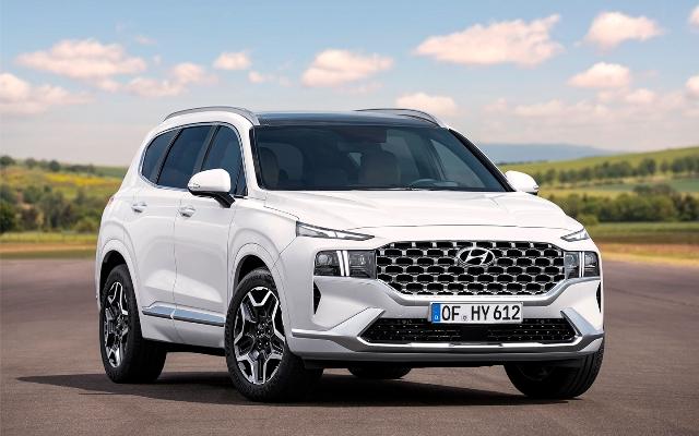 Обновленный Hyundai Santa Fe появится в продаже в начале 2021 года