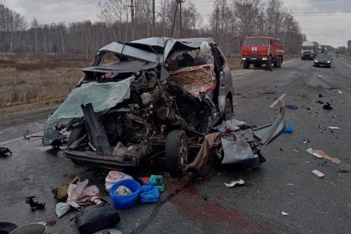 Число жертв лобового ДТП в Болотнинском районе выросло до пяти