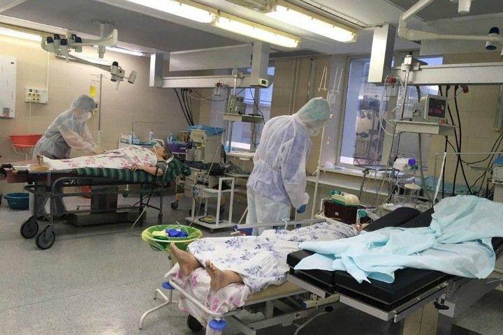 Новосибирская горбольница прокомментировала использование общих операционных для больных COVID-19