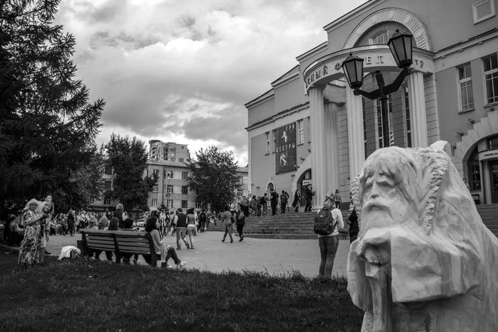 Новосибирский театр закрыли из-за коронавируса