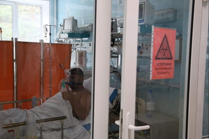 Новый рекорд по зараженным коронавирусом зафиксировали в Новосибирске
