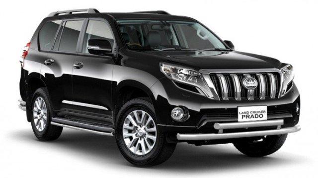 Брутальное авто: Land Cruiser Prado стал мощнее и тише