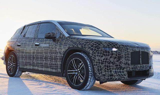 Восьмиугольный руль: что еще известно об электрокаре BMW iX