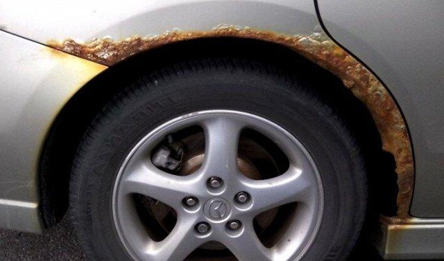 Едкая коррозия. Какие места в авто ржавеют чаще